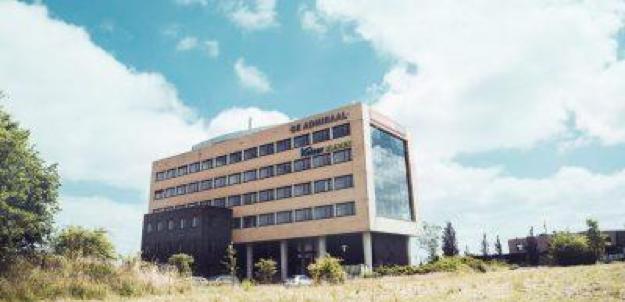 Het gebouw van bekkenbodemkliniek Keizer Kliniek in Assen