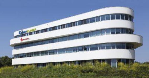 Het gebouw van bekkenbodemkliniek Keizer Kliniek in Den Haag